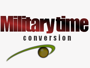 Military time conversion