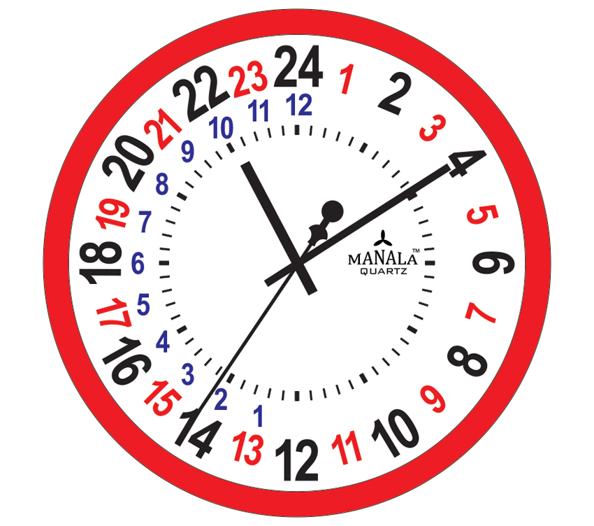 Military Time Clock >> Easy Printable Military Time Conversion Chart